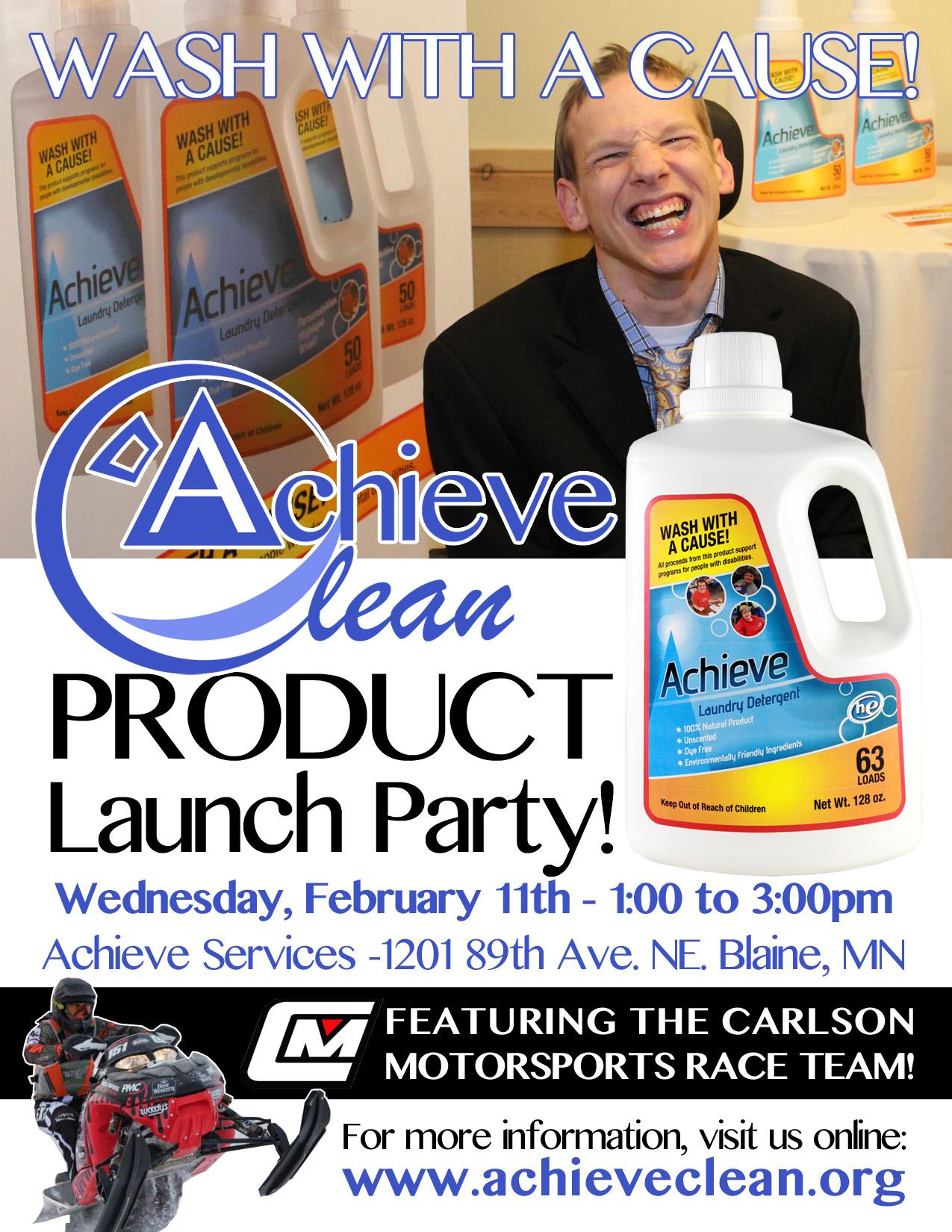 Achieve Clean Launch Flier
