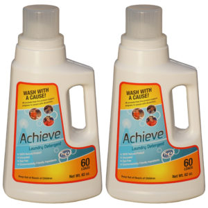 Achieve Clean Laundry Detergent Double Pack