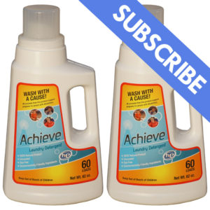 Achieve Clean Laundry Detergent Double Pack Subscription