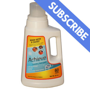 Achieve Clean Laundry Detergent Single Pack Subscription