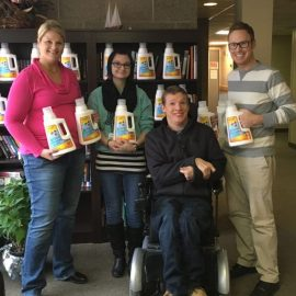 Spring Lake Park Lions Gives Back by Buying Achieve Clean for Homeless Programs